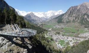 Photo of Nuova passerella panoramica sulla gola dell'Orrido di Pré-Saint-Didier