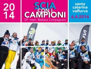 Scia con i campioni 2014