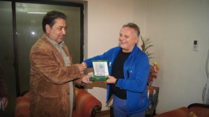 Syed Mehdi Shah Chief Minister Gilgit Baltistan e Agostino Da Polenza EvK2CNR