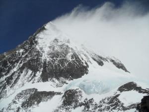 La vetta dell'Everest