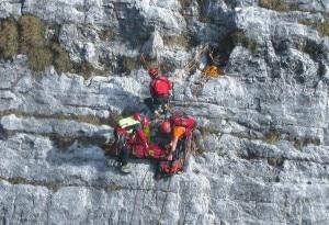 Photo of Maltempo ostacola soccorsi, climber ferito resta bloccato 5 ore in parete