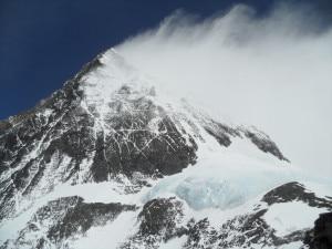 Everest vetta dal versante sud