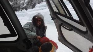 Photo of Maurizio Folini e Giampietro Verza all'Everest sud, missione di pulizia a campo 1