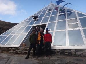 Giampietro Verza, lo staff della Piramide e il turista americano aiutato