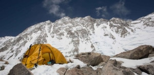 Photo of Shisha Pangma parete sud, francesi in vetta dalla via Britannica