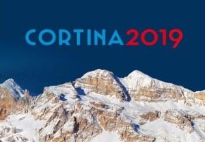 Il logo di Cortina d'Ampezzo per la candidatura ai Mondiali di sci alpino del 2019 (Photo courtesy of cortina2019.it/it/)