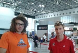 Photo of Luca Schiera e Matteo De Zaiacomo verso il Kirghizistan
