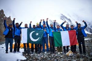 Photo of K2: allestito il campo base, materiali già ai piedi dello Sperone Abruzzi