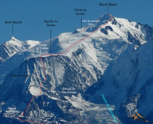 Photo of Monte Bianco, sul versante francese arriva la polizia