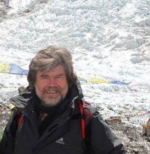 Reinhold Messner (Photo courtesy of deancarriere.com/Explorersweb.com)