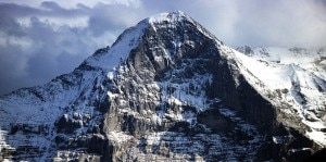 La parete Nord dell'Eiger  (Photo courtesy of Wikipedia.org)