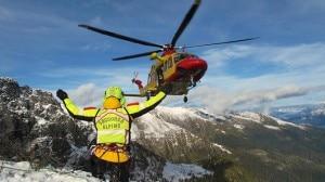 Un'operazione del Soccorso alpino Lombardia (Photo courtesy of Soccorso alpino e speleologico Lombardia)