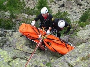 Photo of Soccorso escursionista bloccato sulla ferrata Gamma Due