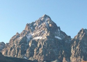 Monviso, versante orientale (Photo Luca Bergamasco courtesy of Wikimedia Commons)