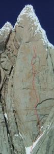 La via di Salvaterra e soci sulla Pera della-Egger (Photo-Ermanno-Salvaterra)