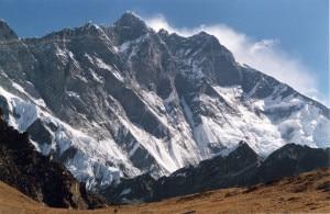 Lhotse parete sud (Photo Uwe Gille - Wikimedia Commons)