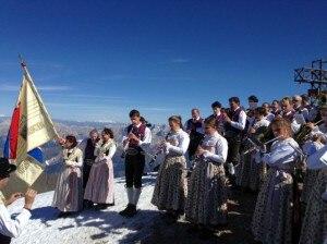 Photo of Marmolada, concerto in vetta per 150 anni dalla prima salita