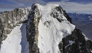 Photo of Nuovo crollo dal ghiacciaio delle Grandes Jorasses