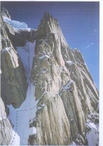 Salita Paiju Peak 1981 - Calcagno Vidoni Pellizzari Enzio (Photo Michele Enzio/