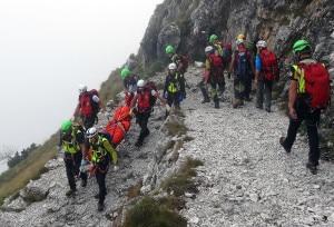 Photo of Scarica di sassi lungo ferrata del Pasubio: muore escursionista