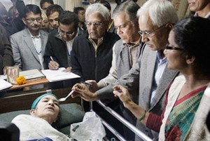 Photo of (English) After 355 days Ganga Maya breaks hunger strike