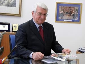 Umberto Martini, Presidente generale del Club alpino italiano (Photo courtesy of Cai)
