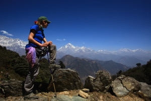 Photo of (English) Trekking routes wear deserted look in Himalaya
