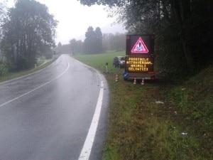 I segnali stradali luminosi collocati sulle strade trentine (Photo courtesy of Ufficio Stampa Provincia di Trento)
