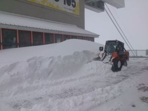 Photo of Cervinia, un metro di neve in poco meno di 24 ore