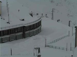Photo of Neve sulle Alpi, scatta la chiusura invernale dei passi