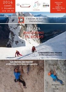 Photo of Lecco, due film d'alpinismo per la Serata Maglioni in Rosso dei Ragni