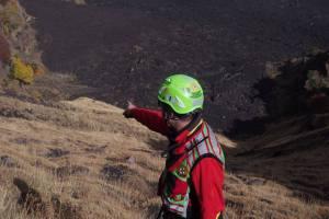 Photo of Notte di ricerche a 2800 metri dell'Etna, salvati 3 escursionisti