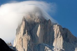 Photo of Fitz Roy: Korra Pesce, Damien Tomasi e Pierre Labbre in cima al Pilastro Nord