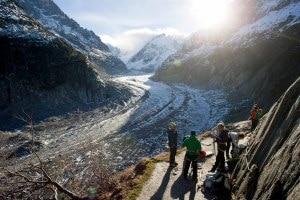Photo of Sul ghiacciaio della Mer de Glace