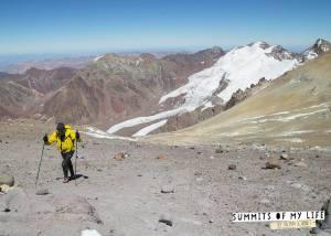 Kilian Jornet all'Aconcagua (photo Summit of my life)