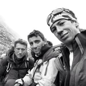 Marco Majori,  Marco Farina e Cazzanelli François (foto Cazzanelli François facebook)