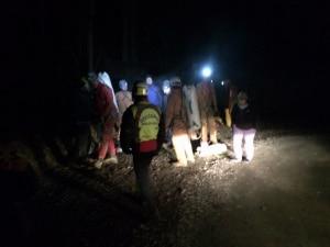 """Photo of Malore a 180 metri sottoterra, recuperato speleologo al """"Bus de la Vecia"""""""