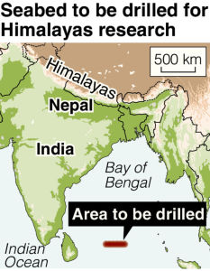 Photo of Come è nato l'Himalaya? Ce lo diranno le trivellazioni nella Baia del Bengal