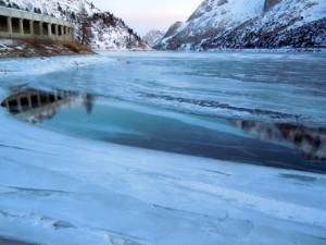 Photo of Marmolada, caldo anomalo scioglie ghiaccio del lago Fedaia