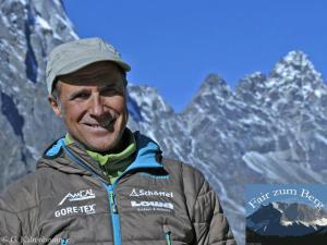 Photo of Ralf Dujmovits ci riprova: in primavera all'Everest senza ossigeno