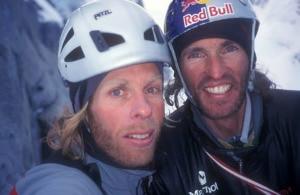 Photo of Stefan Glowacz e Robert Jasper, tentativo fallito alla Est del San Lorenzo