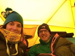Photo of Simone Moro e Tamara Lunger al Manaslu, aggiornamenti dal campo base