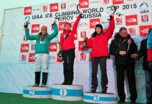 Photo of Iceclimbing, Angelika Rainer e Maxim Tomilov vincono la Coppa del mondo
