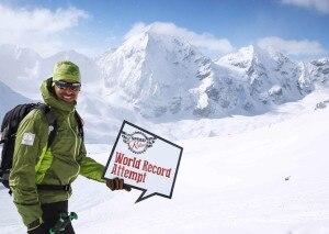 Photo of Giù dal Gran Zebrù a 152,9 chilometri orari, il record in speedriding di Armin Senoner