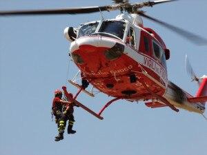 Photo of Grigna, cane bloccato in cresta salvato dall'elicottero
