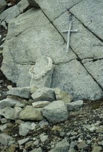 La tomba di Egger (photo Ermanno Salvaterra)