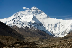 Everest North Face (photo Luca Galuzzi wikipedia commons)