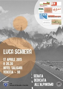 Photo of Alpinismo, serata con Luca Schiera a Verceia