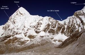 Il luogo del crollo (photo http://www.mountainguides.com)