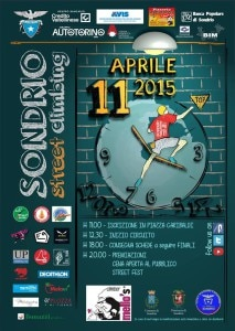 Photo of L'11 aprile torna il Sondrio Street Climbing 2015